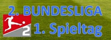 2 Bundesliga Tipps erster Spieltag