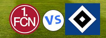 2 Bundesliga Tipps 1. FC Nuernberg gegen Hambuerger SV