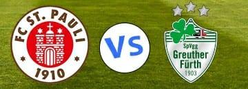2 Bundesliga Tipps FC St Pauli gegen Greuther Fuerth