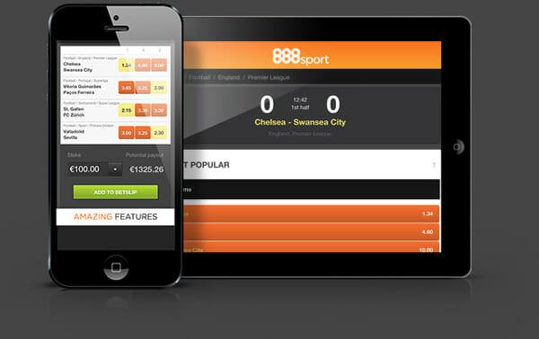 888 Sports Smartphone Tablet