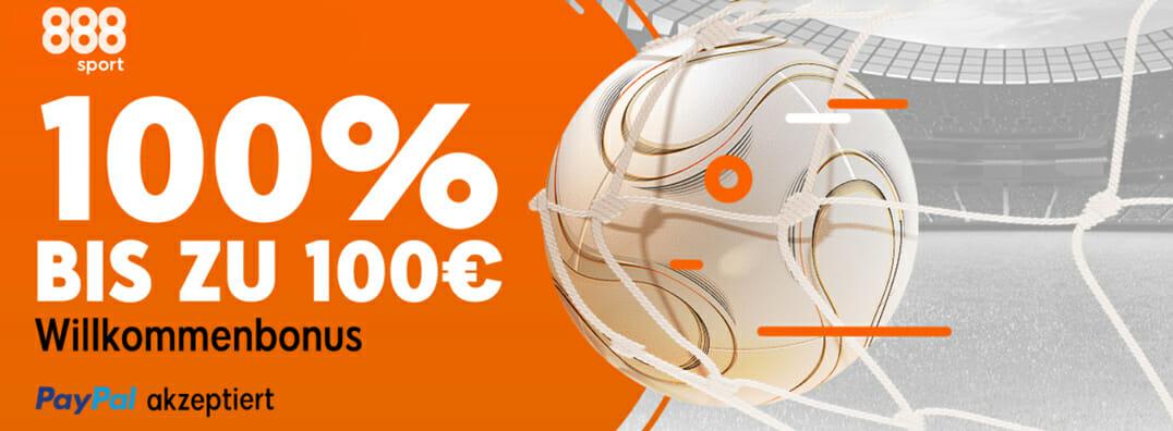 888 Sportwetten Bonus Banner