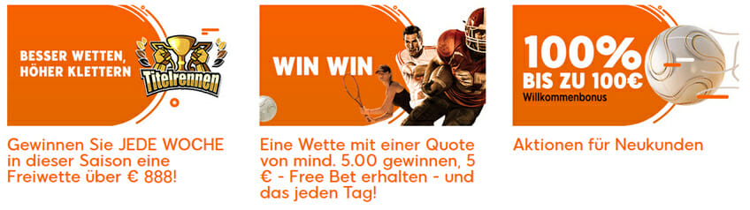888 Sportwetten Promos