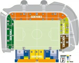 Stadion an der Alten Foersterei Stadionplan Union Berlin