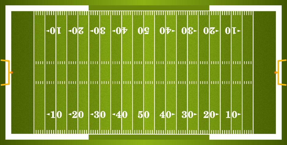 American Football Wetten Spielfeld