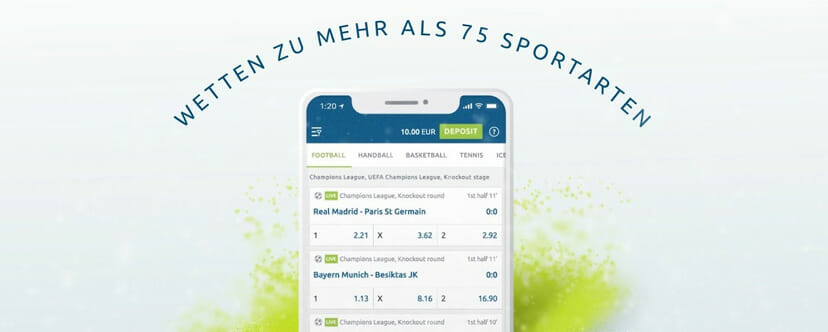 Bet at Home App Wettangebot