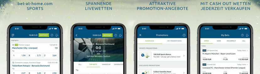Bet at Home mobile Vorschau