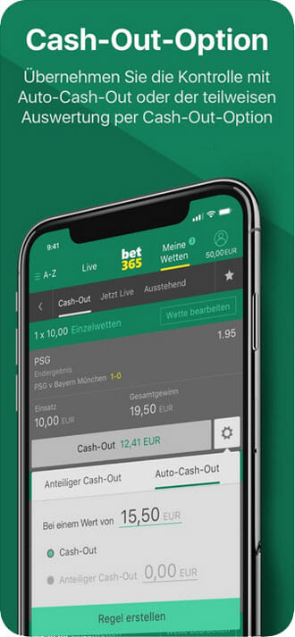 bet365 App Cash Out