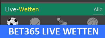 bet365 Live Wetten