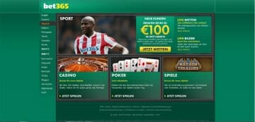 bet365 Sportwetten Start