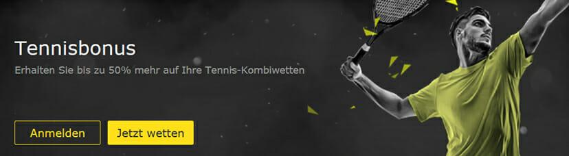 bet365 Sportwetten Tennis Bonus