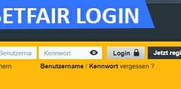 Betfair Sportwetten Login