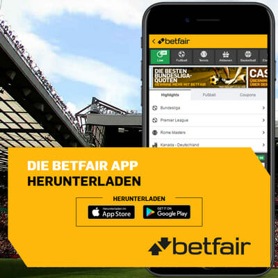 betfair Sportwetten mobile