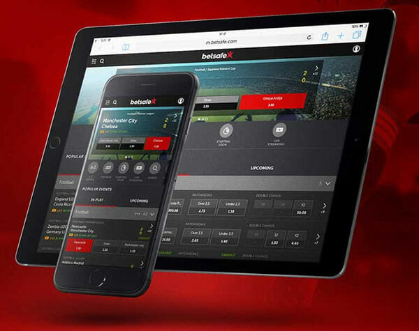 Betsafe Android Tablet