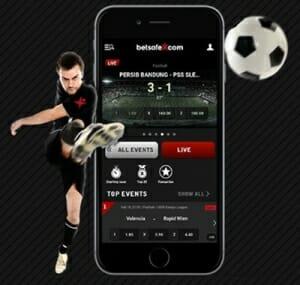 Betsafe Fussball Wetten App