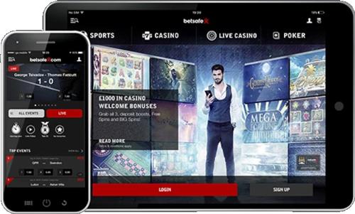 Betsafe Sportwetten App
