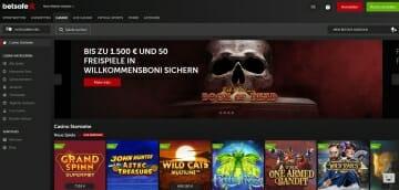 Betsafe Vorschau Casino