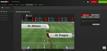 Betsafe Vorschau Virtual Sports