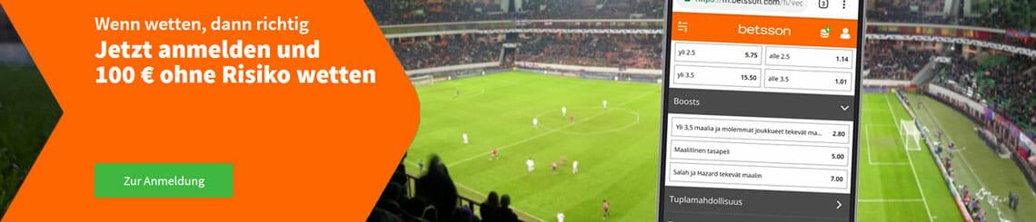 betsson Sportwetten App Bonus