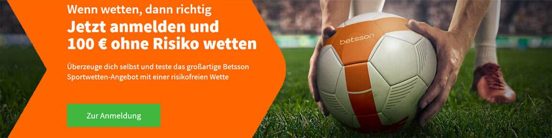 Betsson Sportwetten Bonus Banner