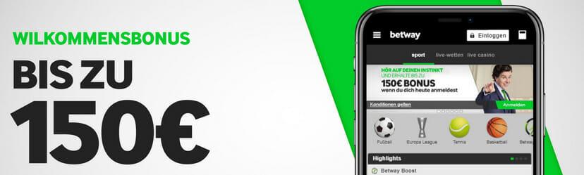 betway Sports App Bonus