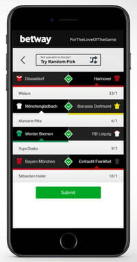 betway Sports Smartphone
