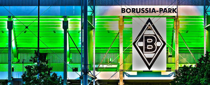 Borussia Park Beleuchtung