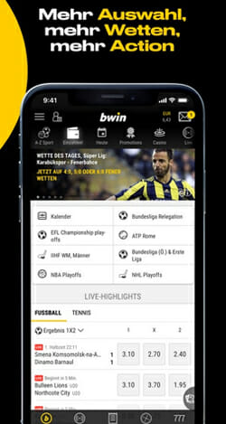 bwin Sportwetten iPhone