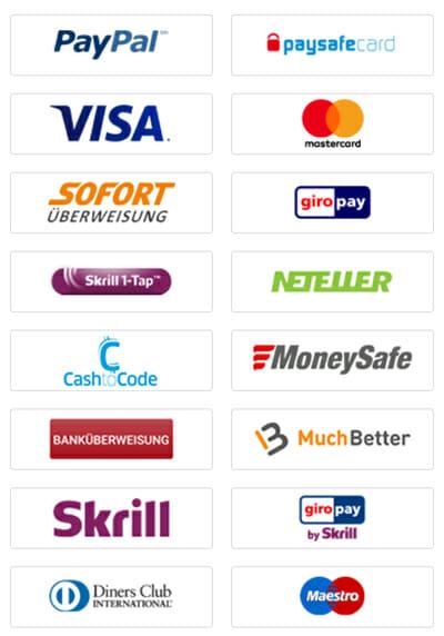 bwin Zahlungsmethoden