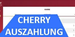 Cherry Auszahlung