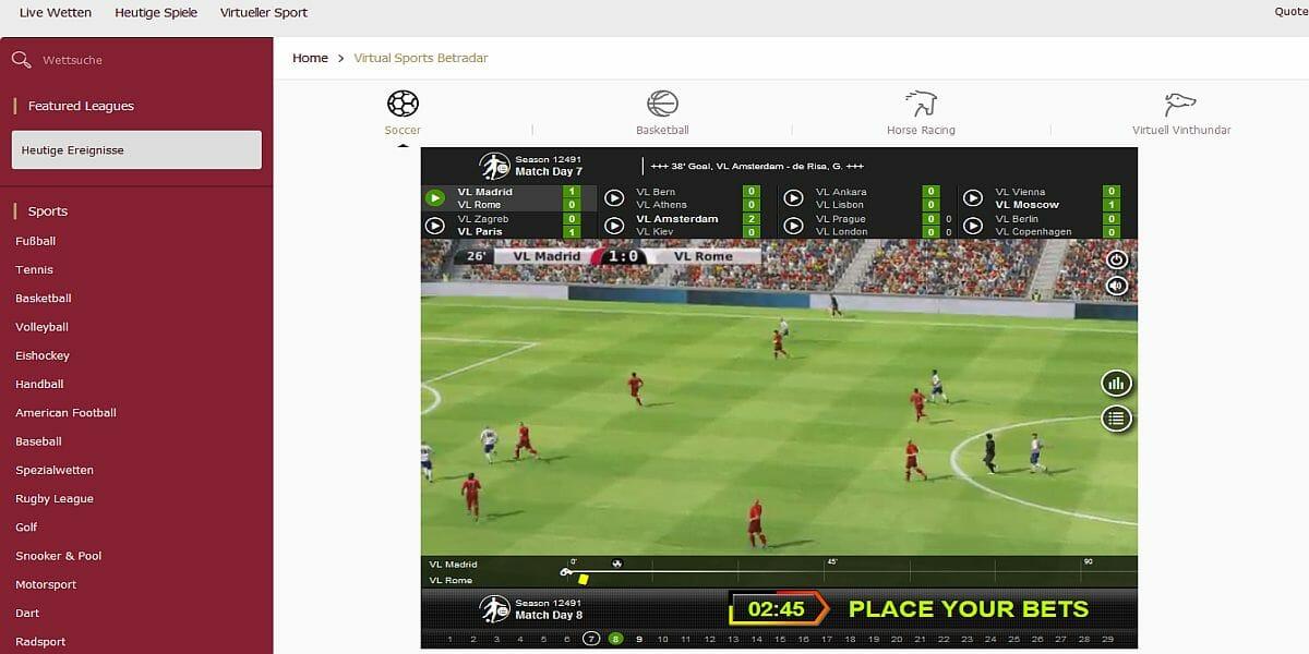 Cherry Virtueller Sport