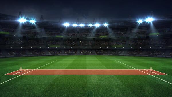 Cricket Wetten Spielfeld