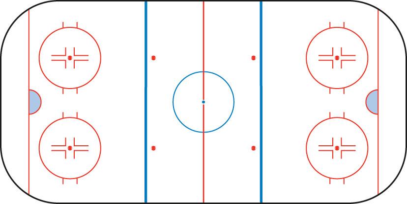 Eishockey Wetten Spielfeld