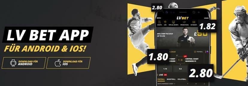 LvBet Sportwetten Apps