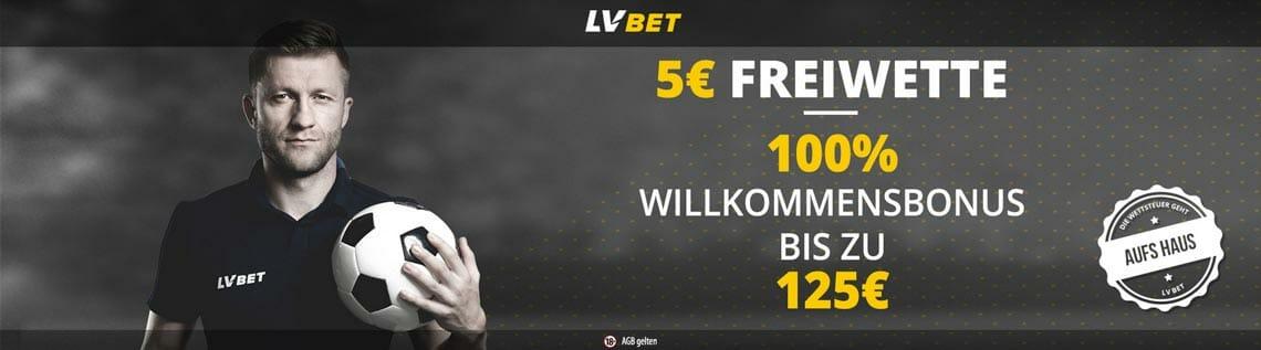 LvBet Sportwetten Bonus Banner