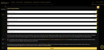 LvBet Sportwetten Anmelden