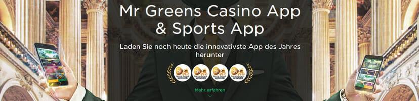 Mr Green Apps