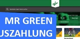 Mr Green Auszahlung