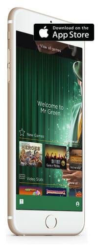 Mr Green iPhone App