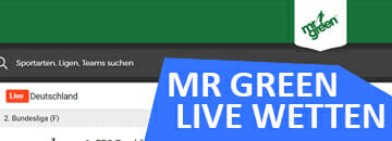 Mr Green Live Wetten