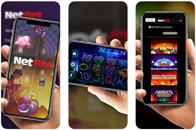 NetBet App Casino Vorschau