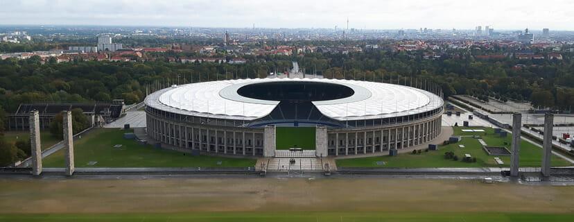 Olympiastadion Gesamtansicht