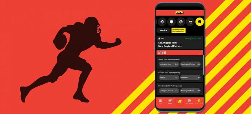Rizk Sportwetten App Football
