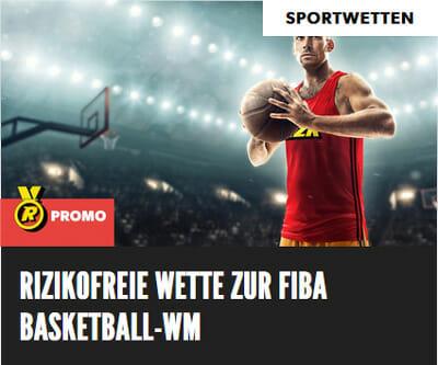 Rizk Sportwetten Basketball Promo