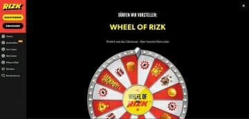 Rizk Sportwetten Wheel of Rizk