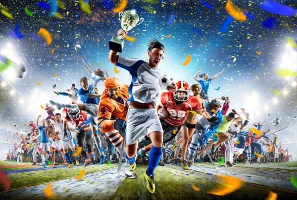 Sportarten Gewinner