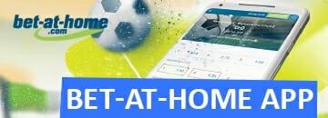 Sportwetten App Bet at Home