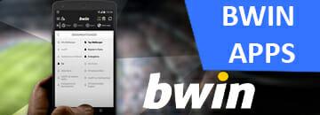 Bwin Apps für Sportwetten