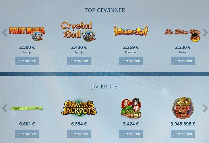 Sunmaker Casino im Test