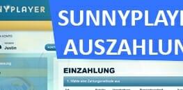 Sunnyplayer Auszahlung