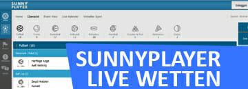Sunnyplayer Live Wetten